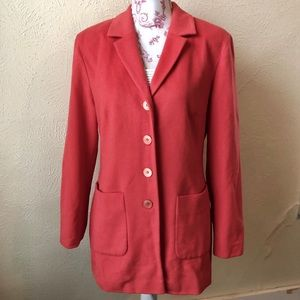 Selection de Givency Jacket 8 (38W) Living Coral